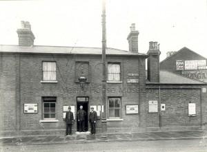 Leytonstone Police Station, Maria Cottages, High Road