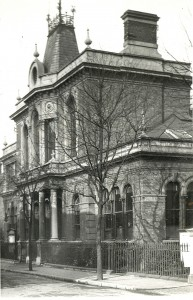 Old Town Hall Orford Road c1920