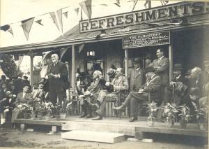 Opening of Wadham Lodge