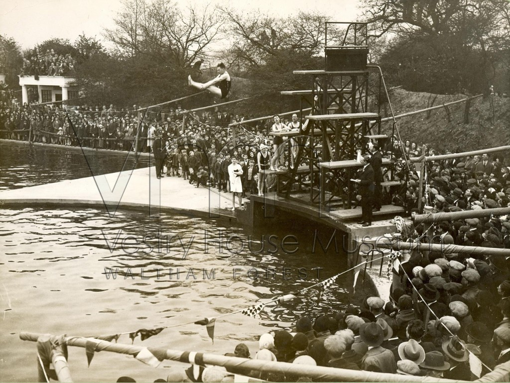 Opening of Whipps Cross Pool 1932 (1)