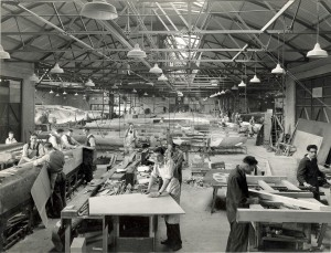 Production of Mosquito planes