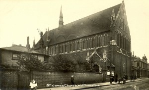 St James Church c1920