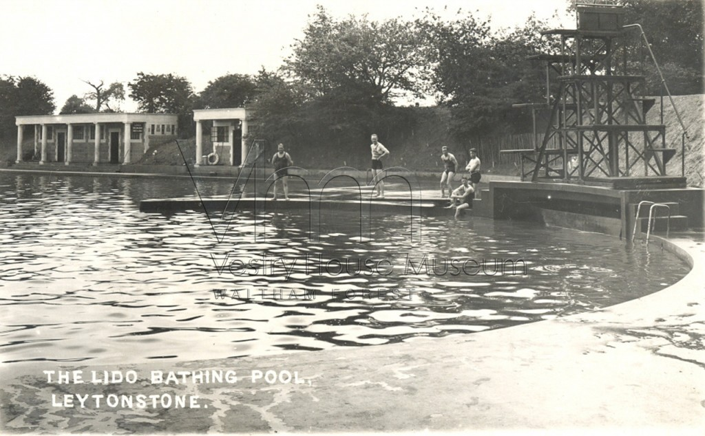The Lido Bathing Pool at Whipps Cross