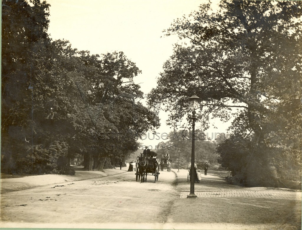 Whipps Cross Road, Leytonstone, c1898