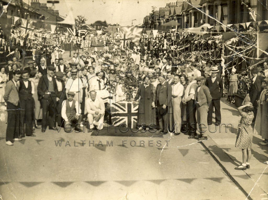 Woodlands Road Street Party 1937