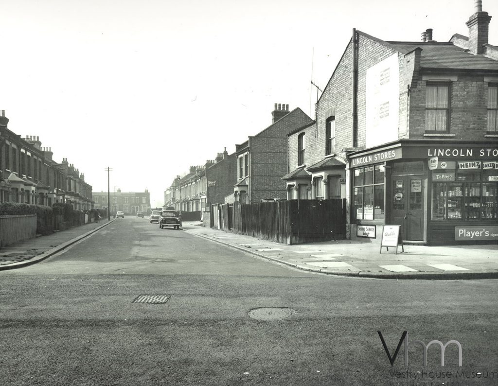 L66.2.618 Marchant Road from Cathall Road_1961