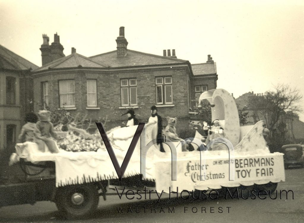 Bearmans Christmas Toy Float, 1953