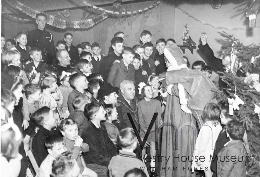 Christmas Party for Children of Prisonners of War, 1940s