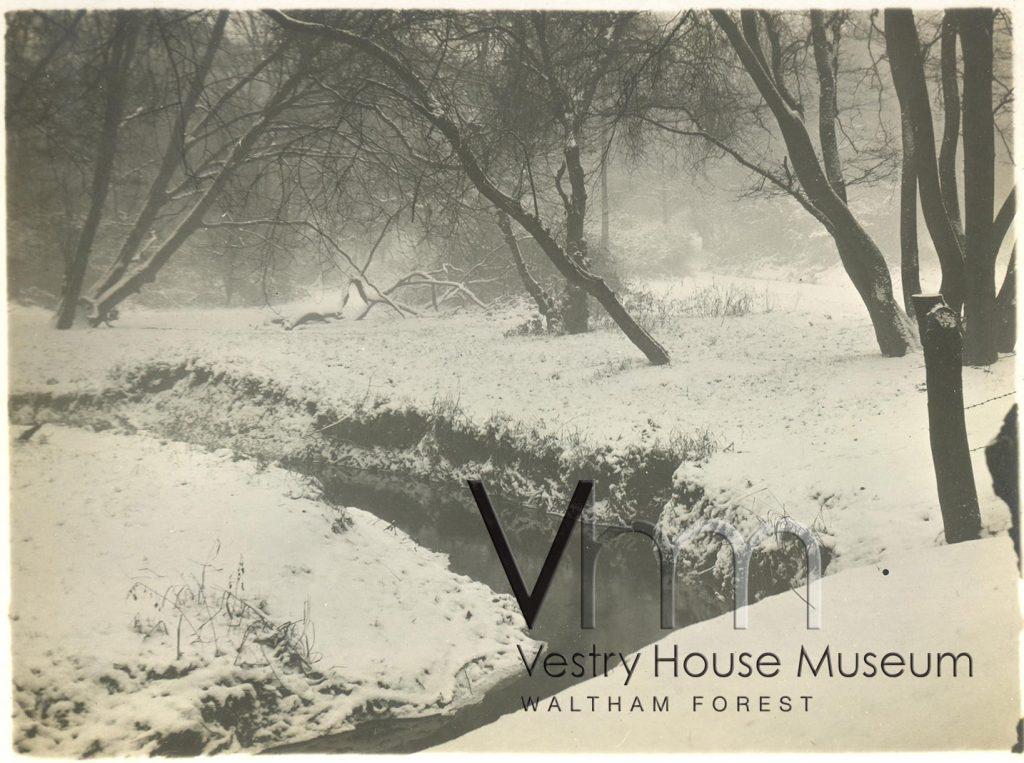 Highams Park in Winter, 1924