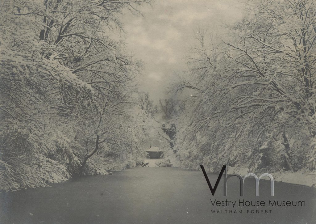 LLoyd Park moat in Winter