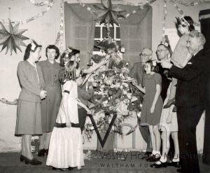 Lea Bridge Gas Works Christmas Party, c1945
