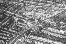 Aerial view of Streatham, –  C1960