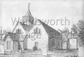 St Nicholas Church (Old Church), Church Lane  –  C1755