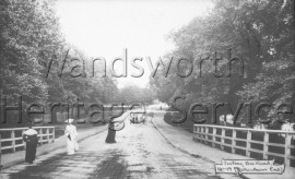 Tooting Bec Road, from the railway bridge, –  C1900