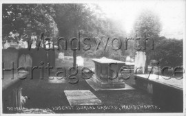 Mount Nod Burial Ground, East Hill-  C1955