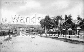 Wandsworth Cemetery, Magdalen Road  –  C1880