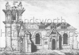 All Saints Church, Wandsworth High Street, prior to 1630-
