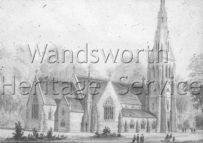 Holy Trinity Church, West Hill – 1862