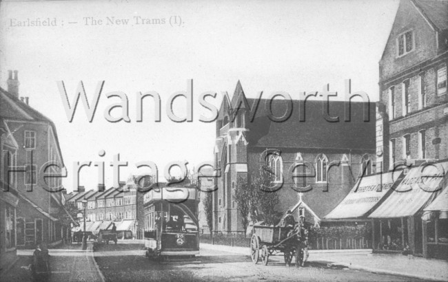 St  Andrew's Church, Garratt Lane  –  C1900
