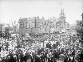 Queen Victoria's Diamond Jubilee, Wandsworth High Street- 1897