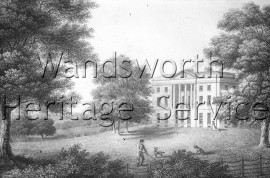 Melrose Hall, West Hill- 1810
