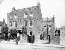 Wandsworth Police Station, Putney Bridge Road-  C1890