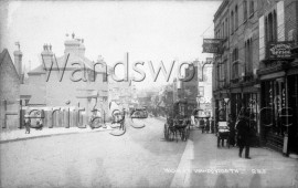 Wandsworth Police Station, West Hill- c1910