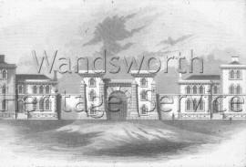 Wandsworth Prison  –  C1890