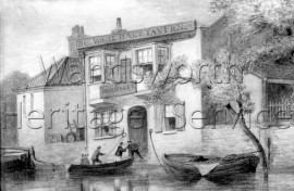 The White Hart, Lombard Road- 1868