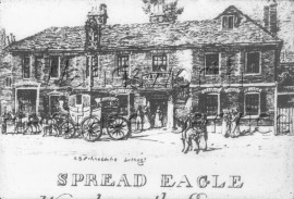 Spread Eagle, Wandsworth High Street  –  C1800