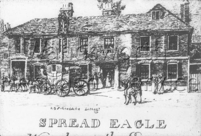 Spread Eagle, Wandsworth High Street  –  C1800