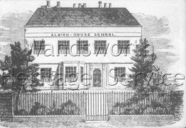Albion House School, East Hill, –  C1850