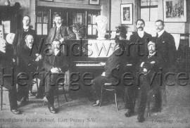 Brandlehow Road school, teaching staff-  C1910