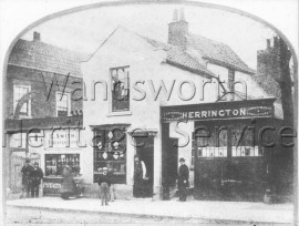Wandsworth High Street  –  C1870