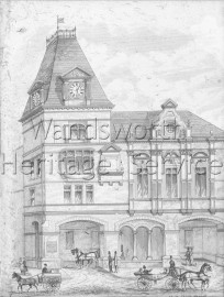 Town Hall, Wandsworth High Street- 1882