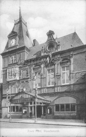 Town Hall, Wandsworth High Street, –  C1910