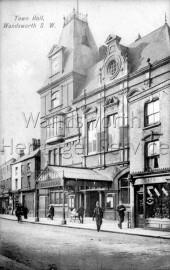 Town Hall, Wandsworth High Street, –  C1910