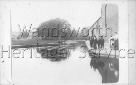 Footpath behind Garratt Lane paper mill-  C1905