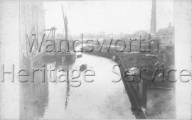 Mouth of the River Wandle, –  C1885
