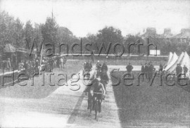 Putney Velodrome, Hotham Road –  C1900