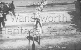 Harvard Crew coming ashore- 1906