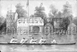 Searle & Sons, Boat House, Windsor Street  1851- 1851
