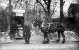 Trace Horse, at foot of Wimbledon Hill-