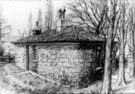 Gate-keepers Cottage at Merton  –  C1900
