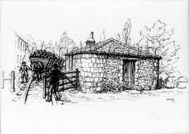Gate-keepers Cottage at Merton  –  C1810