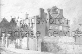 Battersea Workhouse, Battersea Square  1844- 1844