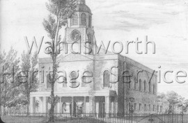 Holy Trinity Church, Clapham Common  –  C1805