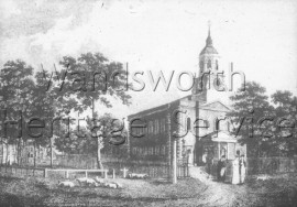 Holy Trinity Church, Clapham Common- 1812