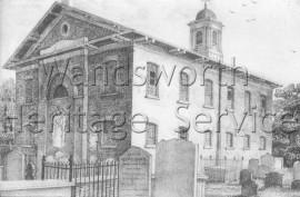 St  Paul's Church, Rectory Grove  –  C1814