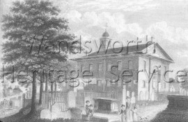 St  Paul's Church, Rectory Grove- 1814